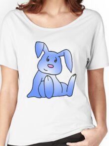 Blue Bunny Rabbit Women's Relaxed Fit T-Shirt