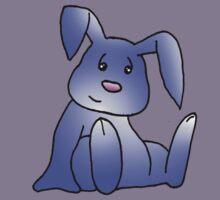 Lavender Bunny Rabbit Kids Tee