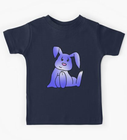 Lavender Bunny Rabbit Kids Tee