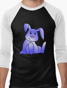 Lavender Bunny Rabbit Men's Baseball ¾ T-Shirt