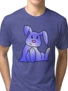 Lavender Bunny Rabbit Tri-blend T-Shirt