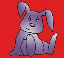 Magenta Bunny Rabbit One Piece - Long Sleeve