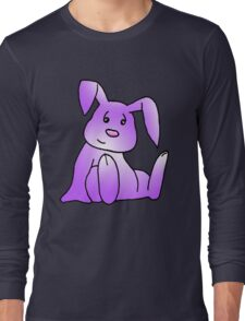 Magenta Bunny Rabbit Long Sleeve T-Shirt