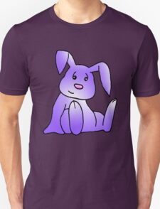 Purple Bunny Rabbit Unisex T-Shirt