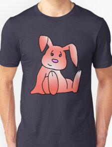 Red Bunny Rabbit Unisex T-Shirt