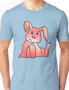Red Bunny Rabbit Unisex T-Shirt