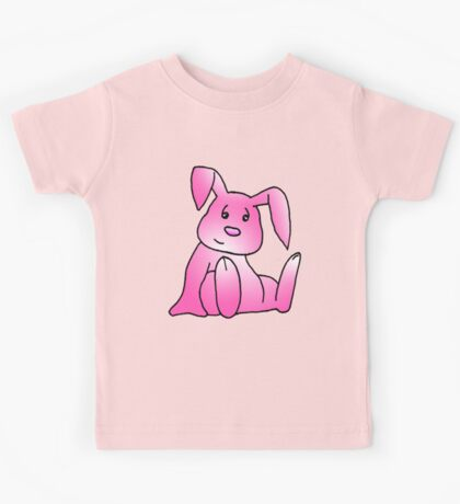 Pink Bunny Rabbit Kids Tee