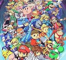 Super Smash Club of Nintendo Players  by jaffrywardjr