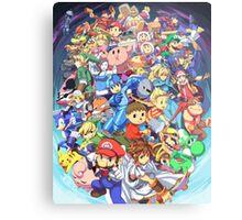 Super Smash Club of Nintendo Players  Metal Print