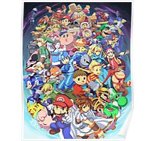 Super Smash Club of Nintendo Players  Poster