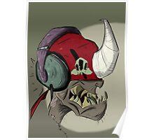 Zombie Alien Poster