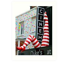 Dukes Cinema Art Print