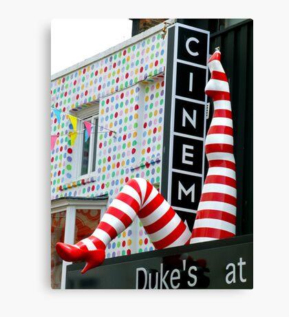Dukes Cinema Canvas Print