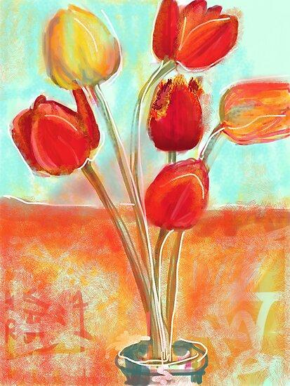 Tulips by Visuddhi