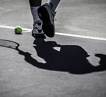 Rafa's Shadow by nadalnews