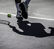 Rafa's Shadow by nadalnews