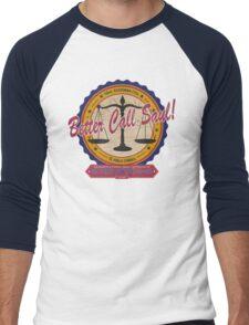 Breaking Bad Inspired - Better Call Saul - Albuquerque Attorney Parody Men's Baseball ¾ T-Shirt