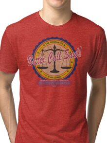Breaking Bad Inspired - Better Call Saul - Albuquerque Attorney Parody Tri-blend T-Shirt