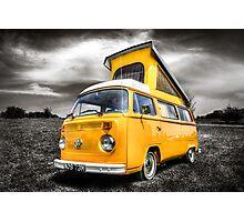 Classic VW camper van Photographic Print