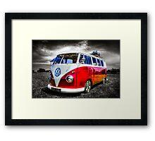 Classic VW Camper Van Framed Print
