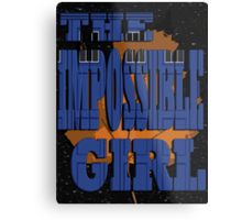 The Impossible Girl Metal Print