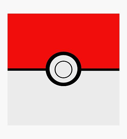 Pokemon Ball Photographic Print