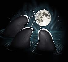 3 Narwhal Moon by GrizzlyGaz