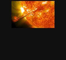 The Sun, Solar Prominince detail, solar flare, space Womens Fitted T-Shirt