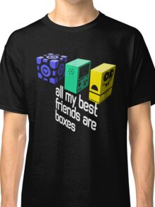 All My Best Friends Are Boxes Classic T-Shirt