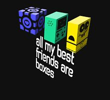 All My Best Friends Are Boxes Unisex T-Shirt