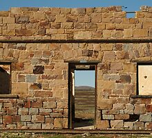 Joe Mortelliti Gallery - North Peake Ruins, Old Ghan Railway, South Australia.  by thisisaustralia