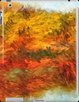 Autumn Lake Impressions by Doreen Erhardt