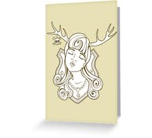 Trophy Wives Three Greeting Card