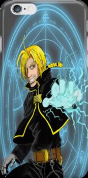 Edward Elric the Fullmetal Alchemist by Lucmix