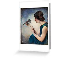 The Key to Wonderland Greeting Card