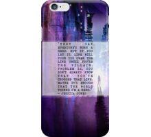 JESSICA JONES iPhone Case/Skin