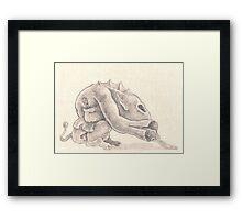Mr. Unknown Framed Print