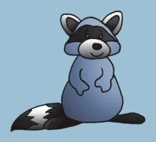 Blue Raccoon by jkartlife