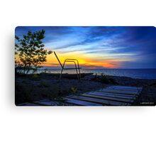 First Sunset Canvas Print