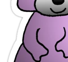 Pink Raccoon Sticker