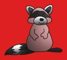 Red Raccoon by jkartlife