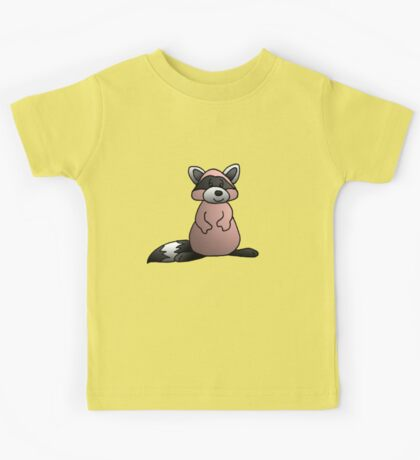 Red Raccoon Kids Tee