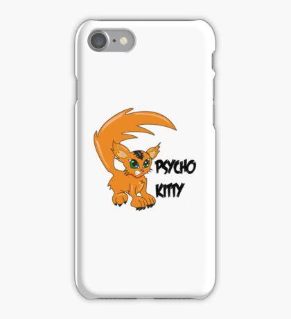 Psycho Kitty iPhone Case/Skin