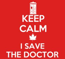 I save the Doctor One Piece - Short Sleeve
