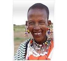 Masai Women  Poster
