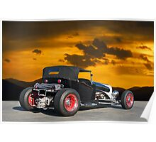 """1927 Ford """"T - 4 - 2"""" Poster"""