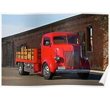 1941 Ford Cab Over Truck Poster