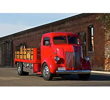 1941 Ford Cab Over Truck Photographic Print