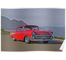 1957 Chevrolet Bel Air Hard Top Poster