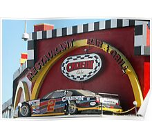 Daytona Crusing Bar Poster